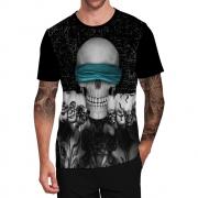 Stompy Camiseta Tattoo Tatuagem Caveira Skull 115