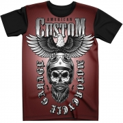 Stompy Camiseta Tattoo Tatuagem Caveira Skull 11
