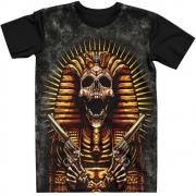 Stompy Camiseta Tattoo Tatuagem Caveira Skull 120