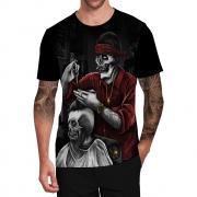 Stompy Camiseta Tattoo Tatuagem Caveira Skull 123
