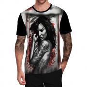 Stompy Camiseta Tattoo Tatuagem Caveira Skull 127