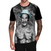 Stompy Camiseta Tattoo Tatuagem Caveira Skull 132