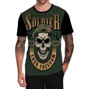 Stompy Camiseta Tattoo Tatuagem Caveira Skull 13