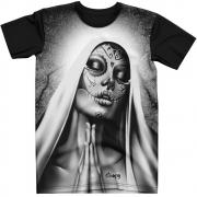 Stompy Camiseta Tattoo Tatuagem Caveira Skull 142