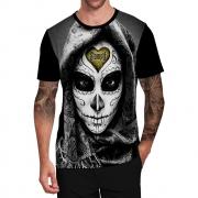 Stompy Camiseta Tattoo Tatuagem Caveira Skull 146