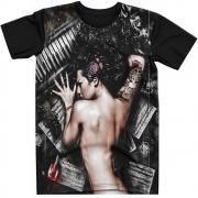 Stompy Camiseta Tattoo Tatuagem Caveira Skull 148