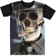Stompy Camiseta Tattoo Tatuagem Caveira Skull 14