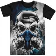 Stompy Camiseta Tattoo Tatuagem Caveira Skull 153