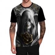 Stompy Camiseta Tattoo Tatuagem Caveira Skull 157