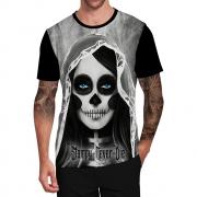 Stompy Camiseta Tattoo Tatuagem Caveira Skull 158