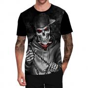 Stompy Camiseta Tattoo Tatuagem Caveira Skull 160