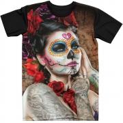 Stompy Camiseta Tattoo Tatuagem Caveira Skull 161