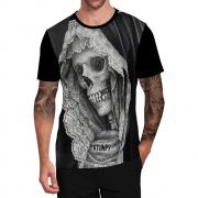 Stompy Camiseta Tattoo Tatuagem Caveira Skull 18