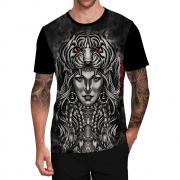 Stompy Camiseta Tattoo Tatuagem Caveira Skull 21