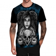 Stompy Camiseta Tattoo Tatuagem Caveira Skull 22