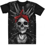 Stompy Camiseta Tattoo Tatuagem Caveira Skull 23