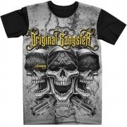 Stompy Camiseta Tattoo Tatuagem Caveira Skull 26
