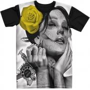 Stompy Camiseta Tattoo Tatuagem Caveira Skull 29