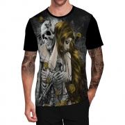 Stompy Camiseta Tattoo Tatuagem Caveira Skull 31