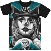 Stompy Camiseta Tattoo Tatuagem Caveira Skull 38