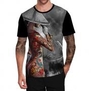 Stompy Camiseta Tattoo Tatuagem Caveira Skull 40