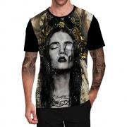 Stompy Camiseta Tattoo Tatuagem Caveira Skull 43