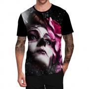 Stompy Camiseta Tattoo Tatuagem Caveira Skull 44