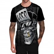 Stompy Camiseta Tattoo Tatuagem Caveira Skull 47