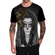 Stompy Camiseta Tattoo Tatuagem Caveira Skull 49