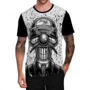 Stompy Camiseta Tattoo Tatuagem Caveira Skull 51