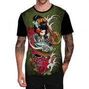 Stompy Camiseta Tattoo Tatuagem Caveira Skull 56