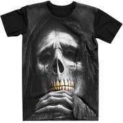 Stompy Camiseta Tattoo Tatuagem Caveira Skull 57