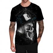 Stompy Camiseta Tattoo Tatuagem Caveira Skull 58