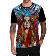Stompy Camiseta Tattoo Tatuagem Caveira Skull 60