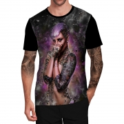 Stompy Camiseta Tattoo Tatuagem Caveira Skull 62