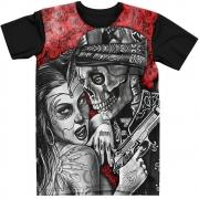 Stompy Camiseta Tattoo Tatuagem Caveira Skull 65