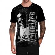 Stompy Camiseta Tattoo Tatuagem Caveira Skull 71