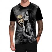 Stompy Camiseta Tattoo Tatuagem Caveira Skull 76
