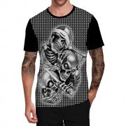 Stompy Camiseta Tattoo Tatuagem Caveira Skull 79