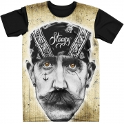 Stompy Camiseta Tattoo Tatuagem Caveira Skull 81