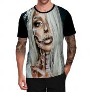 Stompy Camiseta Tattoo Tatuagem Caveira Skull 85