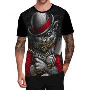 Stompy Camiseta Tattoo Tatuagem Caveira Skull 90