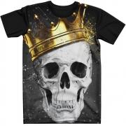 Stompy Camiseta Tattoo Tatuagem Caveira Skull 94