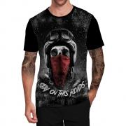 Stompy Camiseta Tattoo Tatuagem Caveira Skull 95