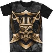 Stompy Camiseta Tattoo Tatuagem Caveira Skull 96