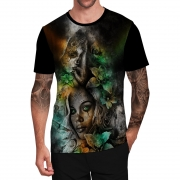 Stompy Camiseta Tattoo Tatuagem Caveira Skull 98
