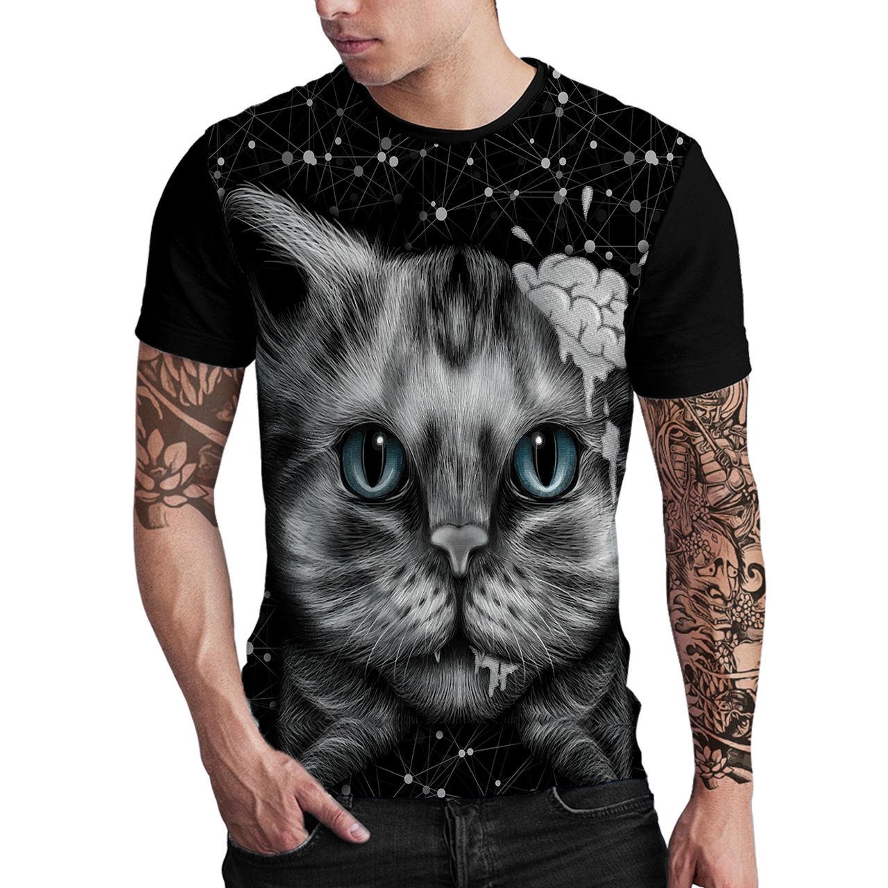 Stompy Camiseta Estampada Masculina Modelo 01