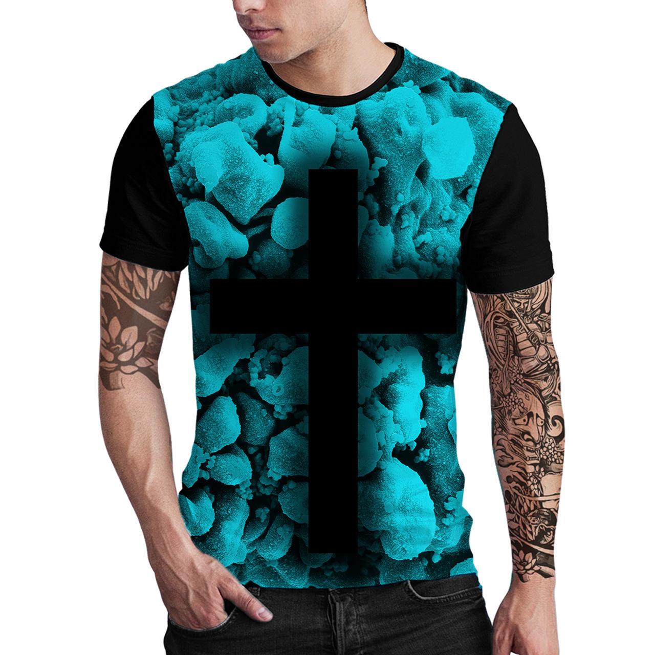 Stompy Camiseta Estampada Masculina Modelo 05