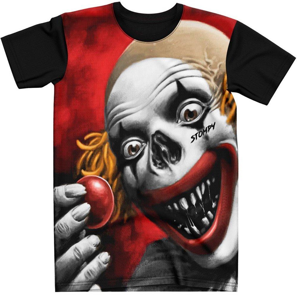Stompy Camiseta Estampada Masculina Modelo 100