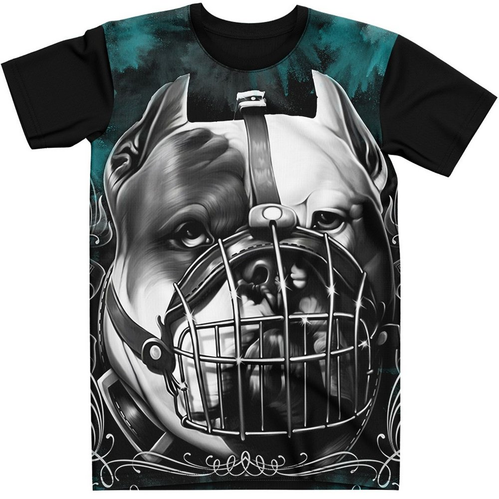Stompy Camiseta Estampada Masculina Modelo 102
